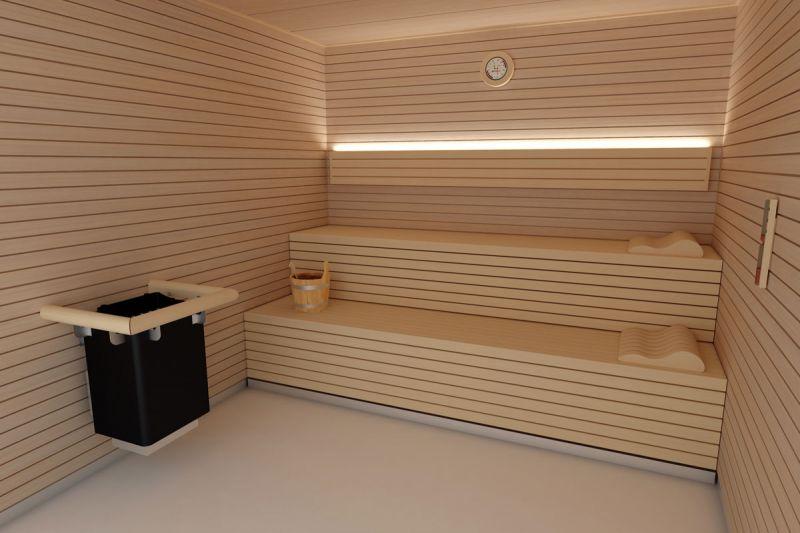 arquitectua y empresa inbeca wellness equipment sauna zurich