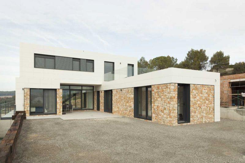 arquitectura casas inHAUS arquitectura modular diseño vista exterior
