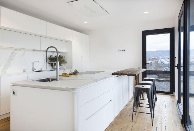 arquitectura casas inHAUS arquitectura modular diseño cocina