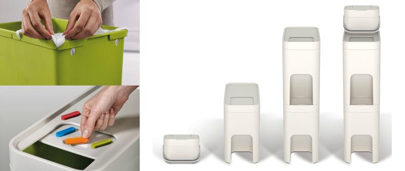 arquitectura, arquitecto, diseño, design, Pearson Lloyd, Joseph Joseph, accesorios hogar, accesorios cocina, reciclaje, reciclar, residuos, basura, contenedores, basureros