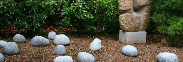 Arquitectura_Isamu Noguchi _ Jardín Museo Noguchi