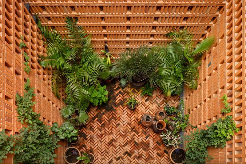 arquitectura_Iturbide Estudio_patio ajardinado