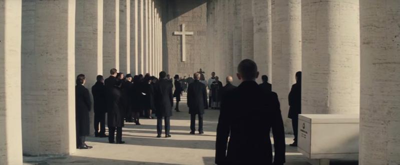 james bond spectre 007 localizaciones de rodaje italia museo de la civilizacion romana film
