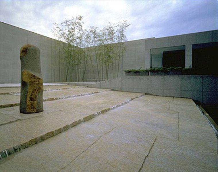Arquitectura._Isamu Noguchi_jardín del Domon Ken Museum, Sakata (Japón).1984
