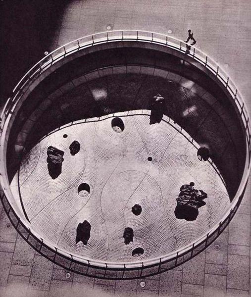 Arquitectura_Isamu Noguchi_Jardín hundido del Chase Manhattan Bank 1961