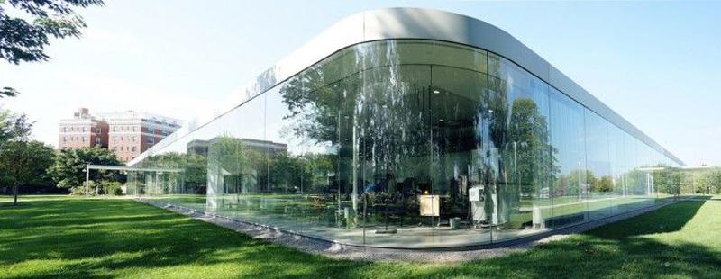 Glass Pavilion del Museo de Arte Contemporáneo de Toledo en EEUU