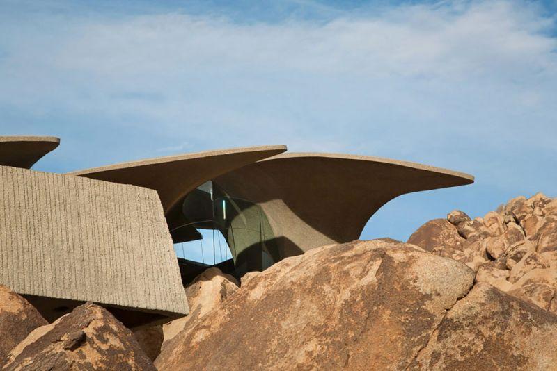 arquitectura high desert house Kendrick Bangs Kellogg fotografía de lance gerber exterior detalle