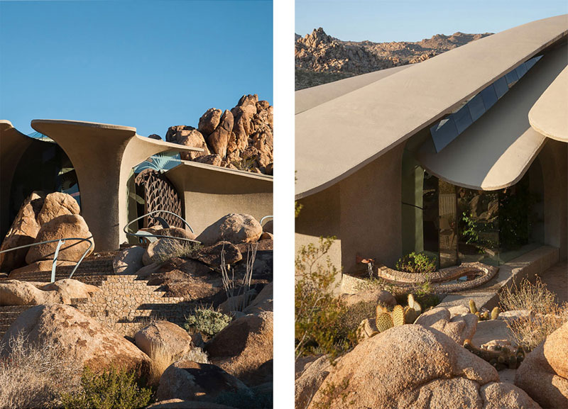 arquitectura high desert house Kendrick Bangs Kellogg fotografía de lance gerber exterior detalles