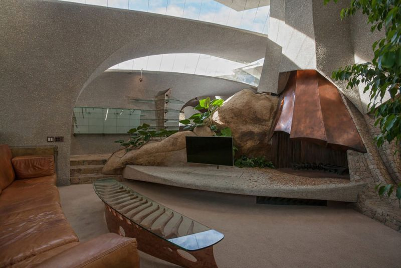 arquitectura high desert house Kendrick Bangs Kellogg fotografía de lance gerber interior salon