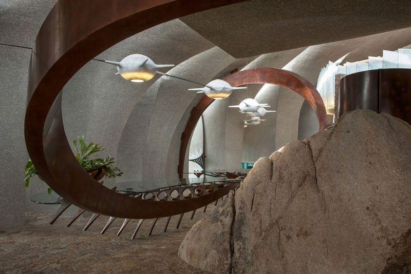 arquitectura high desert house Kendrick Bangs Kellogg fotografía de lance gerber interior lamparas