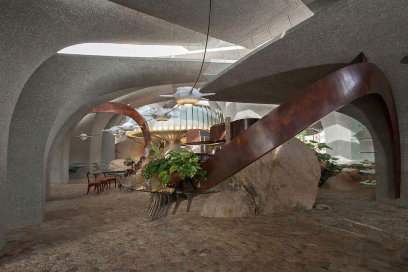 arquitectura high desert house Kendrick Bangs Kellogg fotografía de lance gerber interior comedor