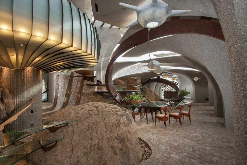 arquitectura high desert house Kendrick Bangs Kellogg fotografía de lance gerber interior escultura