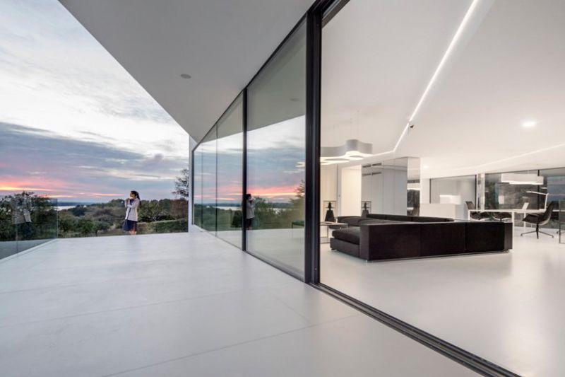 arquitectura KWK promes Konieczny By the way fotografia salon terraza