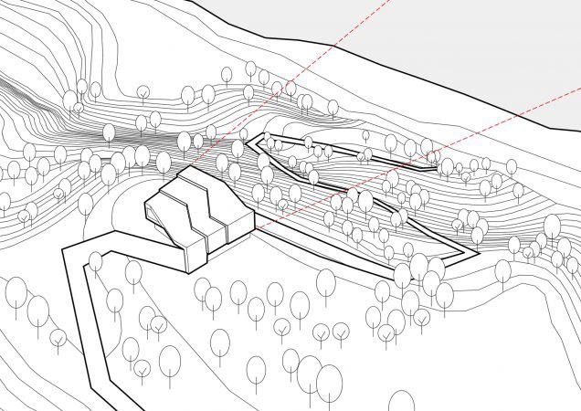 arquitectura KWK promes Konieczny By the way axonometria