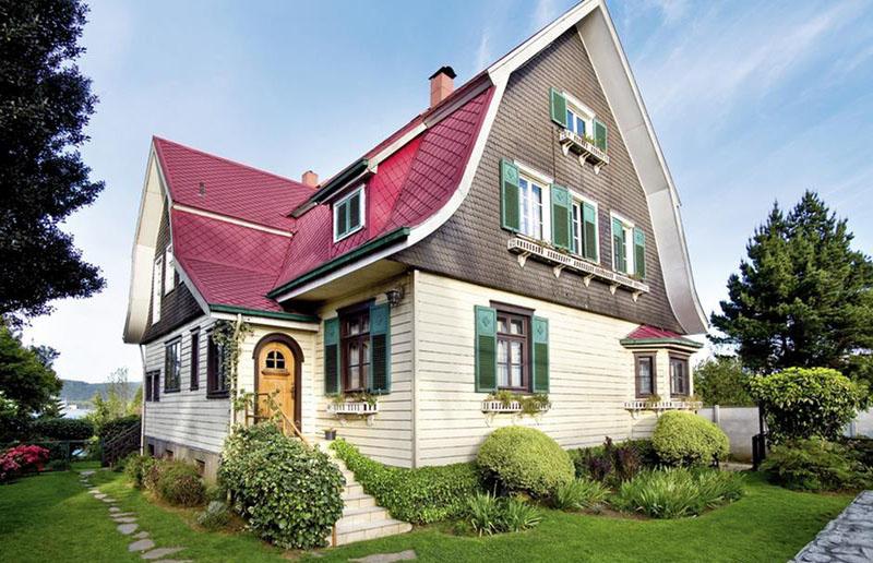 Arquitectura_casa lauer _ Valdivia imagen exterior