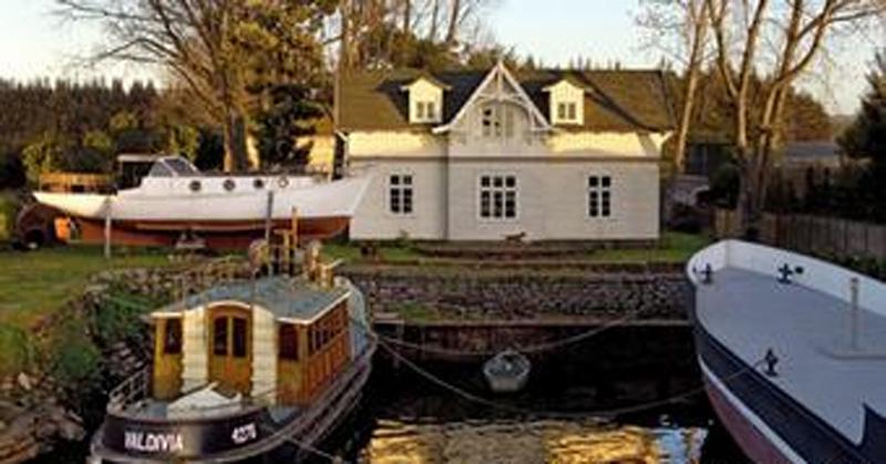 Arquitectura_La casa Schmauk_ imagen desde el lago