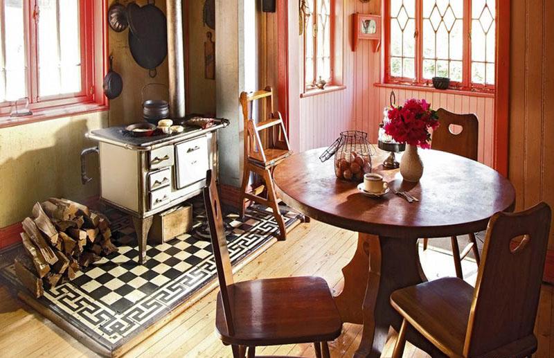 cocina de la casa Steffen