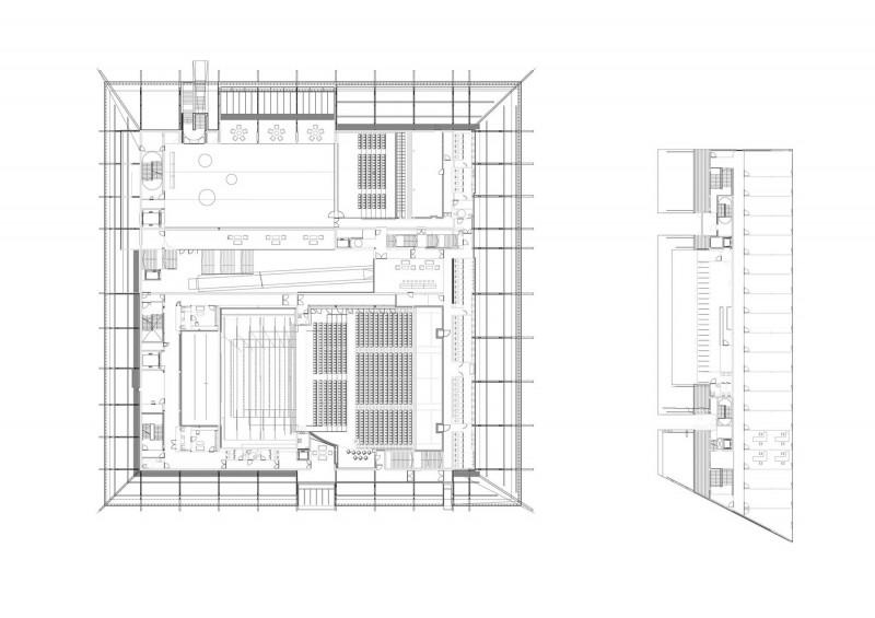 arquitectura la llotja mecanoo labb arquitectura planos p1 arquitecturayempresa