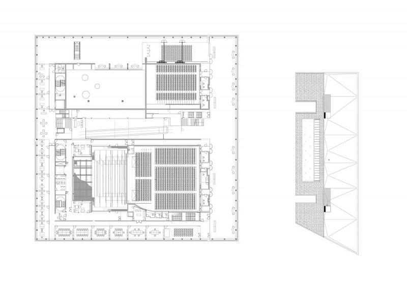 arquitectura la llotja mecanoo labb arquitectura planos p2 arquitecturayempresa