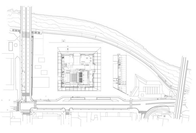 arquitectura la llotja mecanoo labb arquitectura plano situacion arquitecturayempresa