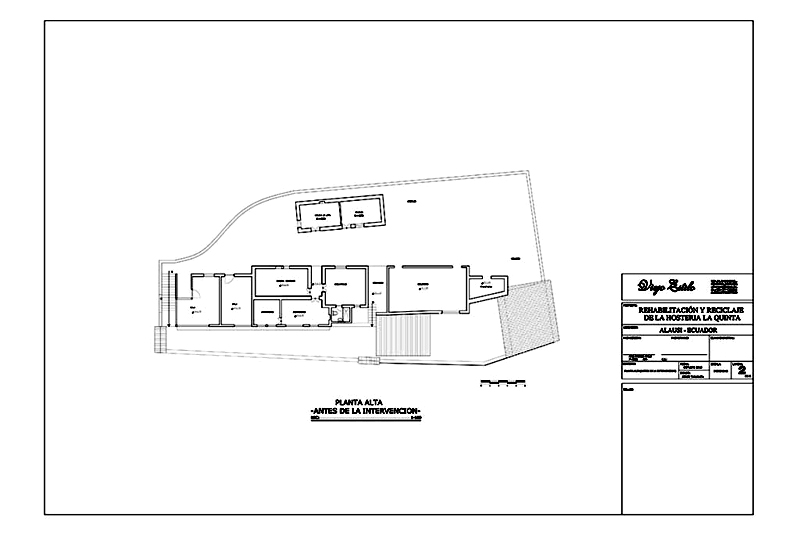 arquitectura_ la qunita_rehabilitacion_LAM-2_planta 1 antes de la intervencion