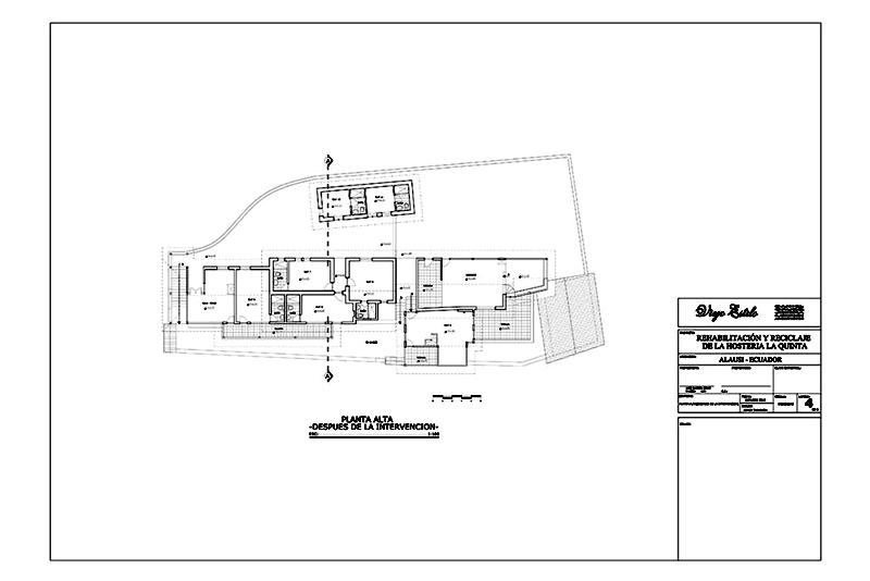 arquitectura_ la qunita_rehabilitacion_LAM-4_planta alta despues de la intervención