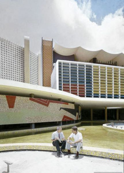 Arquitectura _la rinconada_murales de facahadas