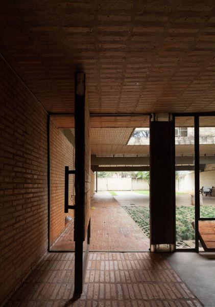 arquitectura ladrillo_gabinete arquitectura_casa fanego_acceso