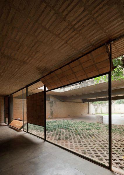 arquitectura ladrillo_gabinete arquitectura_casa fanego_cerramient