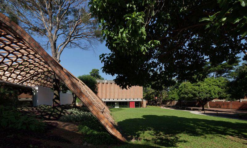 arquitectura ladrillo_gabinete arquitectura_rehabilitación infantil_conjunto