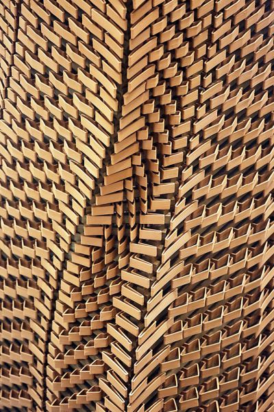 arquitectura_ladrillos impresos_enfriamiento pasivo_torre detalle