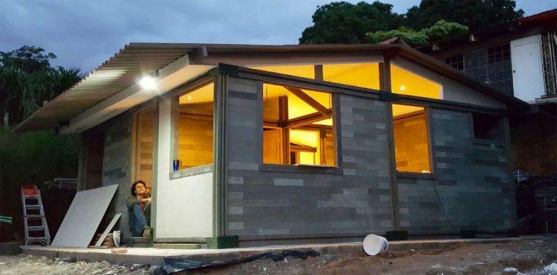 ARQUITECTURA Oscar Andrés Méndez Conceptos Plásticos casa economica