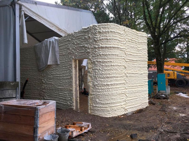 Lafarge Holcim proyecto vivienda impresión 3D yhnova casa ventana