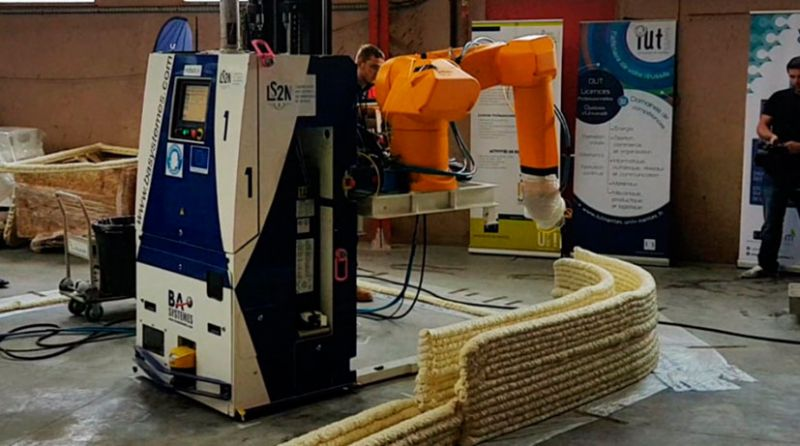 Lafarge Holcim proyecto vivienda impresión 3D yhnova robot