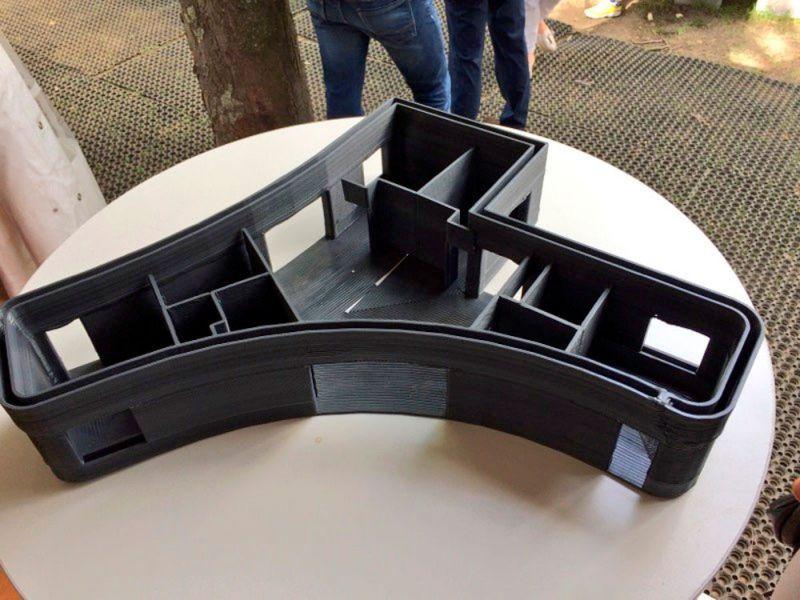 Lafarge Holcim proyecto vivienda impresión 3D yhnova maqueta