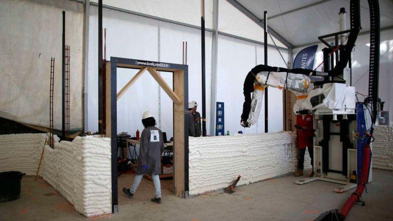Lafarge Holcim proyecto vivienda impresión 3D yhnova