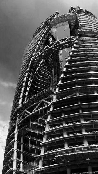 arquitectura_Leeza Soho_Zaha Hadid_imagen construcción2_Yicheng Yang