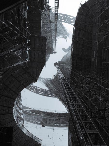 arquitectura_Leeza Soho_Zaha Hadid_imagen construcción_Satoshi Ohashi