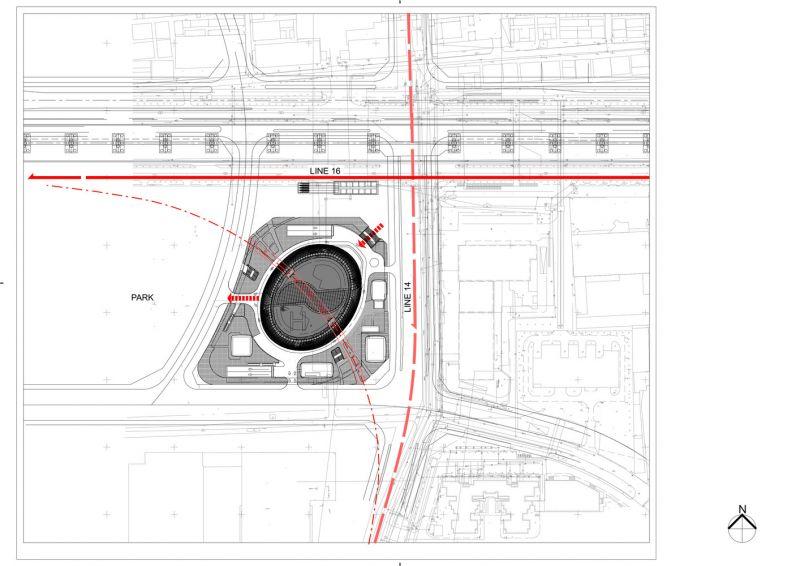 arquitectura_Leeza Soho_Zaha Hadid_plano situación