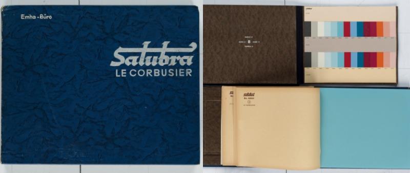 arquitectura, arquitecto, diseño, design, libro, Le Corbusier, Swann Auction Galleries, subasta, color, teoría, interiorismo, decoración, venta, papel pintado, pared, Salubra, Suiza, Nueva York, New York