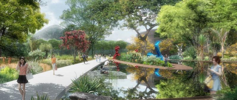 arquitectura, arquitecto, diseño, design, paisajismo, China, naturaleza, lago, montaña, TLS Landscape Architecture, Lion Mountain Park, parque, Suzhou