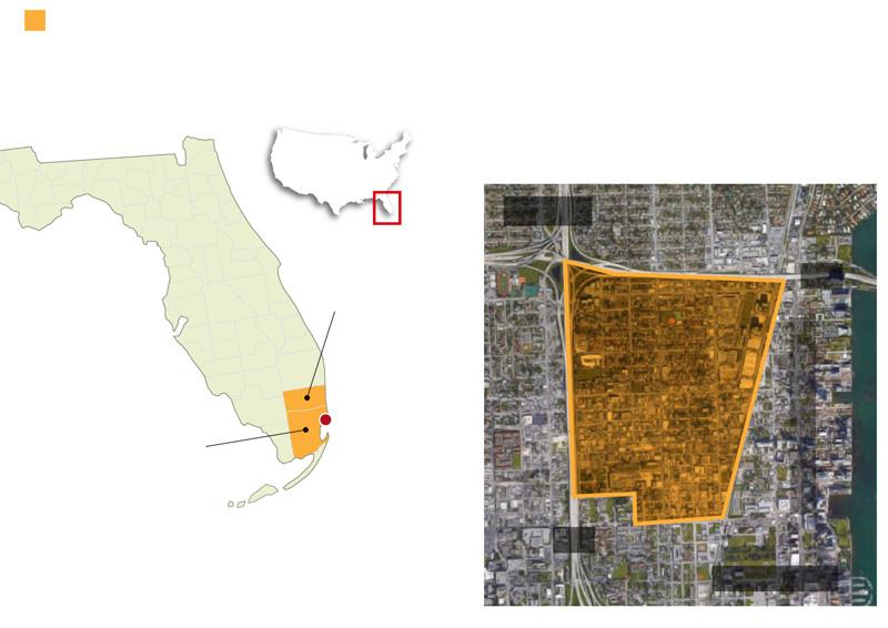 Mapa emplazamiento Little Haiti