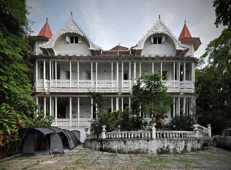 arquitectura gingerbread haiti
