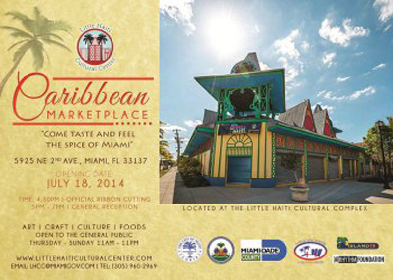 cartel de Caribbean Marketplace 2014