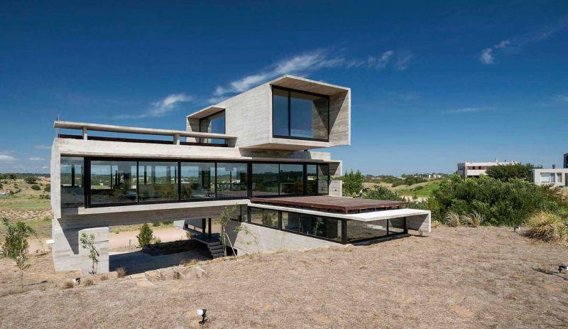 luciano kruk casa golf fotografía exterior fachad principal
