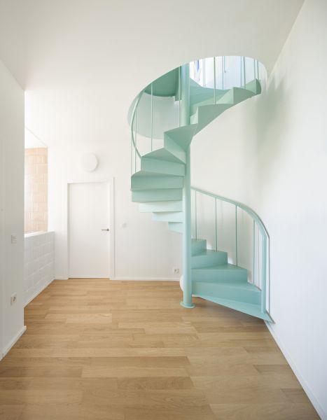 arquitectura_Luis Muñoz_casa de los vientos_escalera