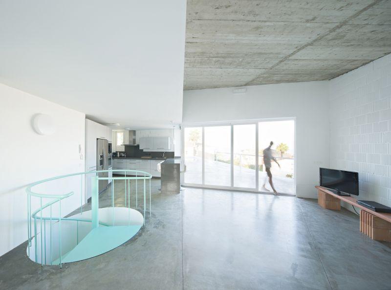 arquitectura_Luis Muñoz_casa de los vientos_salón cocina