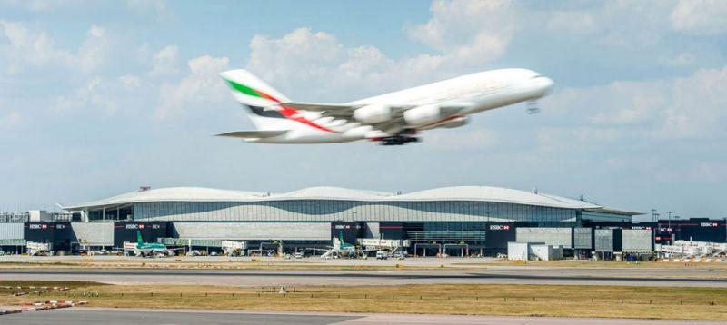 arquitectura Terminal 2 del aeropuerto de Heathrow luis vidal