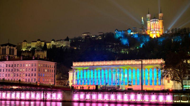 Lyon iluminado. Fotografía: Frédéric Guignard-Perret