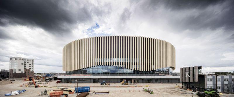 arquitectura accoya madera estructural fachada proyecto copenhague royal arena
